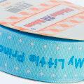 Sticker Ribbon Mavi Bebe Baskılı Yapışkan Kurdele - SR-1687