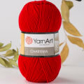 Yarnart Charisma Yarn, Red - 156