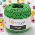 Yarnart Violet Yarn, Green - 6332