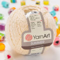 Yarnart Summer Yarn, Cream - 06