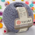 Yarnart Summer Yarn, Smoked Grey - 53