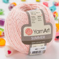Yarnart Summer Yarn, Pinkish White - 46