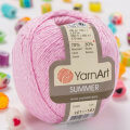 Yarnart Summer Yarn, Pink - 01