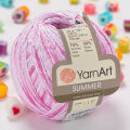 Yarnart Summer Yarn, Variegated Colors - 114
