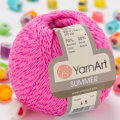 Yarnart Summer Yarn, Pink - 45