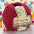 Yarnart Summer Yarn, Claret - 38