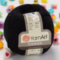 Yarnart Summer Yarn, Black - 17