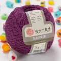Yarnart Summer Yarn, Purple - 52