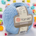Yarnart Summer Yarn, Blue - 11