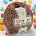 Yarnart Summer Yarn, Brown - 49