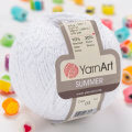 Yarnart Summer Yarn, White - 03