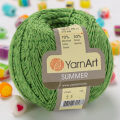 Yarnart Summer Yarn, Green - 55