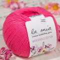 La Mia Mercerized Cotton Yarn, Dark Pink - 35