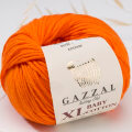 Gazzal Baby Cotton XL Baby Yarn, Orange - 3419XL
