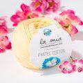 La Mia Pastel 100% Cotton Yarn, Yellow - L060
