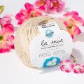 La Mia Pastel 100% Cotton Yarn, Beige - L051