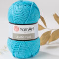 YarnArt Jeans Plus  Cotton Yarn, Turquoise - 33
