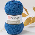YarnArt Jeans Plus Cotton Yarn, Dark Blue - 17