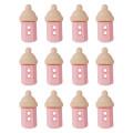 Dress It Up Creative Button Assortment, Cute Baby Bottle Girl - 6939