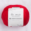 La Mia XL Mercerized Cotton Yarn, Red - 19