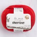 La Mia Merino Kırmızı El Örgü İpi - L092