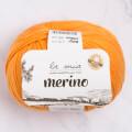 La Mia Merino Turuncu El Örgü İpi - L139