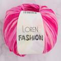 Loren Fashion Pembe Fuşya Rafya Şerit İp - R073