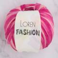 Loren Fashion Pembe Yavruağzı Rafya Şerit İp - R074