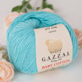 Gazzal Baby Cotton Baby Yarn, Blue - 3451
