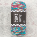 La Mia Ekose Yarn for Color Planned Pooling, Blue - LE004