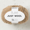 La Mia Just Wool Yarn, Light Brown - LT014