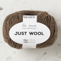 La Mia Just Wool Yarn, Brown - LT013