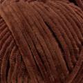 Kartopu Elegance Kahverengi Kadife Bebek Yünü - YMD0045