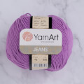 YarnArt Jeans Knitting Yarn, Purple - 72
