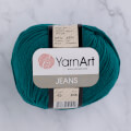 YarnArt Jeans Knitting Yarn, Petrol Green - 63