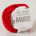 La Mia Bamboo Kırmızı El Örgü İpi - L092