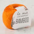 La Mia Bamboo Turuncu El Örgü İpi - L150