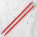 Kartopu 8 mm 25 cm Knitting Needles for Kid, Red