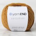 YarnEND Amigurumi Knitting Yarn, Cinnamon - 047