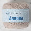 La Mia Angora 50gr. Bej El Örgü İpi - L003