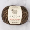 Gazzal Rock'N'Roll Kahverengi El Örgü İpi - 13186
