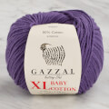 Gazzal Baby Cotton XL Baby Yarn, Purple - 3440XL