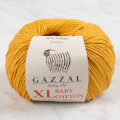 Gazzal Baby Cotton XL Baby Yarn, Mustard Yellow - 3447