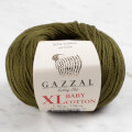 Gazzal Baby Cotton XL Baby Yarn, Khaki Green - 3463