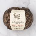 Gazzal Rock'N'Roll Kahverengi El Örgü İpi - 13181