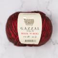 Gazzal Rock'N'Roll Kırmızı El Örgü İpi - 12833