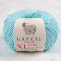 Gazzal Baby Cotton XL Baby Yarn, Cyan - 3451
