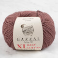 Gazzal Baby Cotton XL Baby Yarn, Milky Brown - 3455