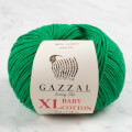 Gazzal Baby Cotton XL Baby Yarn, Green - 3456