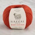 Gazzal Baby Cotton Knitting Yarn, Cinnamon - 3453